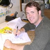 Author and illustrator Steve Harpster is coming to Alton Darby!