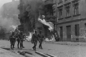 Picture of the Warsaw Ghetto Uprising