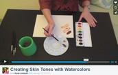 Watercolors as Media