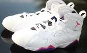 Girls Nike Air Jordan 7 Retro Gs Fireberry