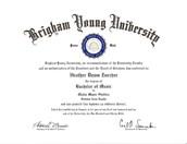 BYU Bachelors Degree