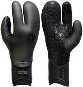 Skin Tight Three Finger Gloves