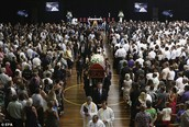 Funeral Service via satellite