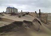 These are all pictures of the erosion happening near us!