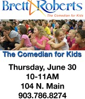 Comedian for Kids June 30