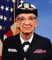 Grace Hopper in uniform