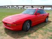 Vehical: 1995 BMW 840