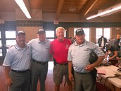 Brian with Dave Epperson and his crew