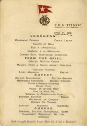 TITANIC MEAT, POULTRY AND FISH.