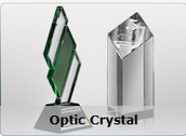 Optic Crystal Trophy