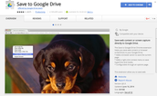 Chrome Extension: Save to Drive