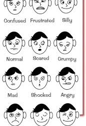Facial expressions information