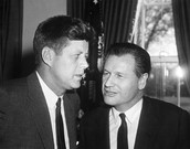 John F. Kennedy and Gaylord Nelson