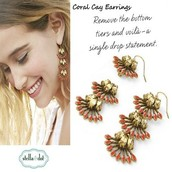Coral Cay Earrings