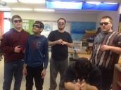 Sunglasses Day - lookin' good boys!