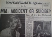 """""""Accident or Suicide"""""""