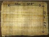 22x32 cm (A4) Papyrus Pack