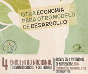 6 y 7 de Noviembre.        IV Encuentro Nacional de Economía Social y Solidaria