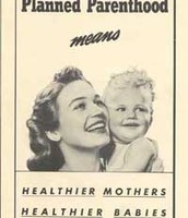 Birth Control Federation of America propaganda poster.
