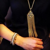Update your existing wardrobe with a piece of Gilded Fringe.