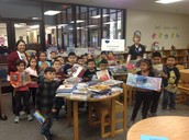 Hundreds of new books, funded by a BISD Foundation Grant, arrive to eager readers!