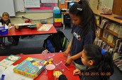 Goldie Blox Fun on Club Day at CWES