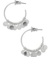 Small Fringe Hoops. Retail $29. Sale Price $10.
