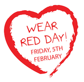 THIS FRIDAY Wear Red