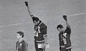 Black Power solute -Olympics 68