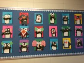 Cosy Penguins by Miss Durand's Gr. 1 Class