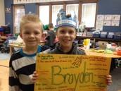 Happy Birthday Brayden!