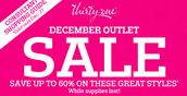 Outlet sale Dec 27-29th