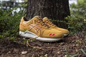 "Asics Outdoor Pack ""Honey Mustard"""