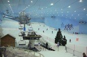 Artificial  ski resorts