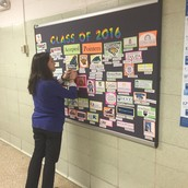 Ms. Warm Heating up the College Acceptance Board