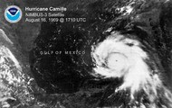 Tracking Map of Hurricane Camille