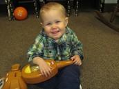 My happy boy, Knox!