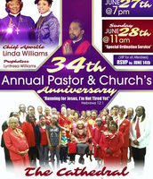 Our Annual Pastoral And Church Anniversary Flyer