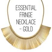 Essential Fringe Necklace $59