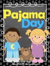 Pajama Day for our First Big Rock Celebration!