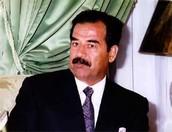 Saddam a los 36 años de edad