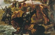 Lancelot on Horse