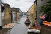Overstromingen in Hanoi