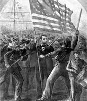 Abe Lincoln during civil war.