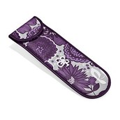 Flat Iron Case in Plum Awesome Blossom