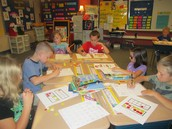 Second Grade Students Working Hard!