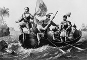 Columbus and His men