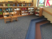 Here is our new Makerspace Area! (In Construction)