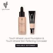 Mineral Touch Liquid Foundation.
