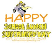 School Lunch Superhero Day